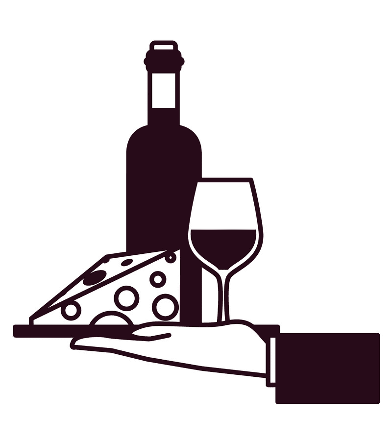 Wine and Cheese clipart 5