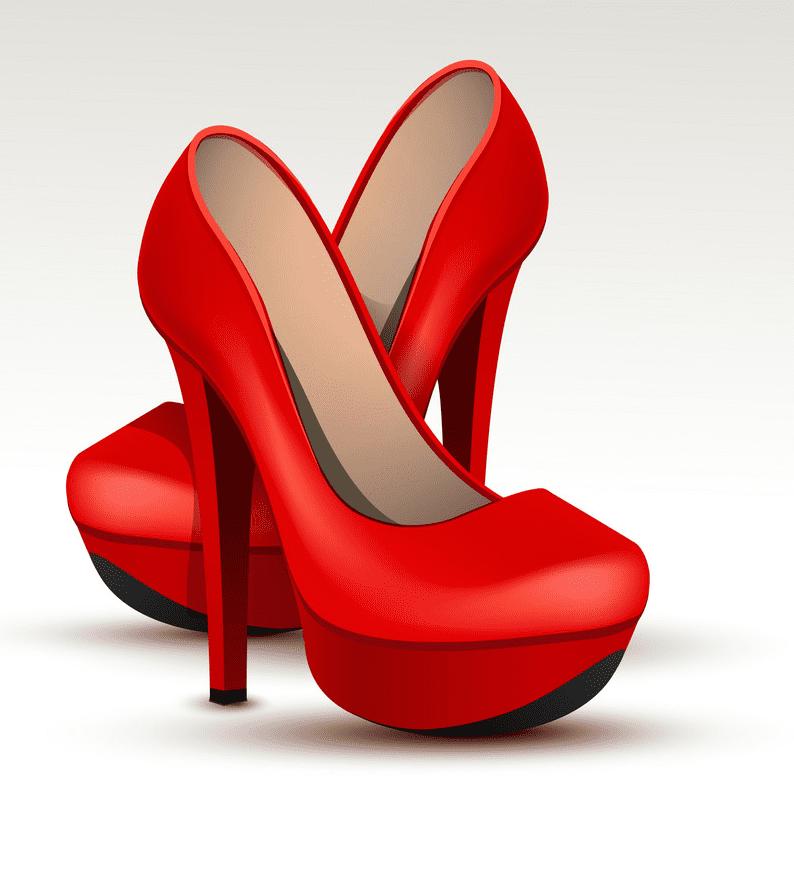 Women Shoes clipart free
