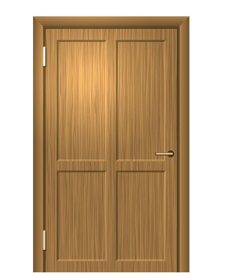 Wooden Door clipart