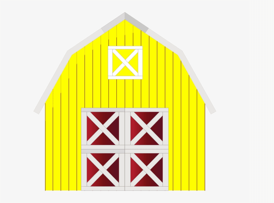 Yellow Barn clipart