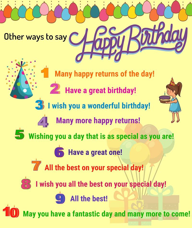 10 Happy Birthday Wishes
