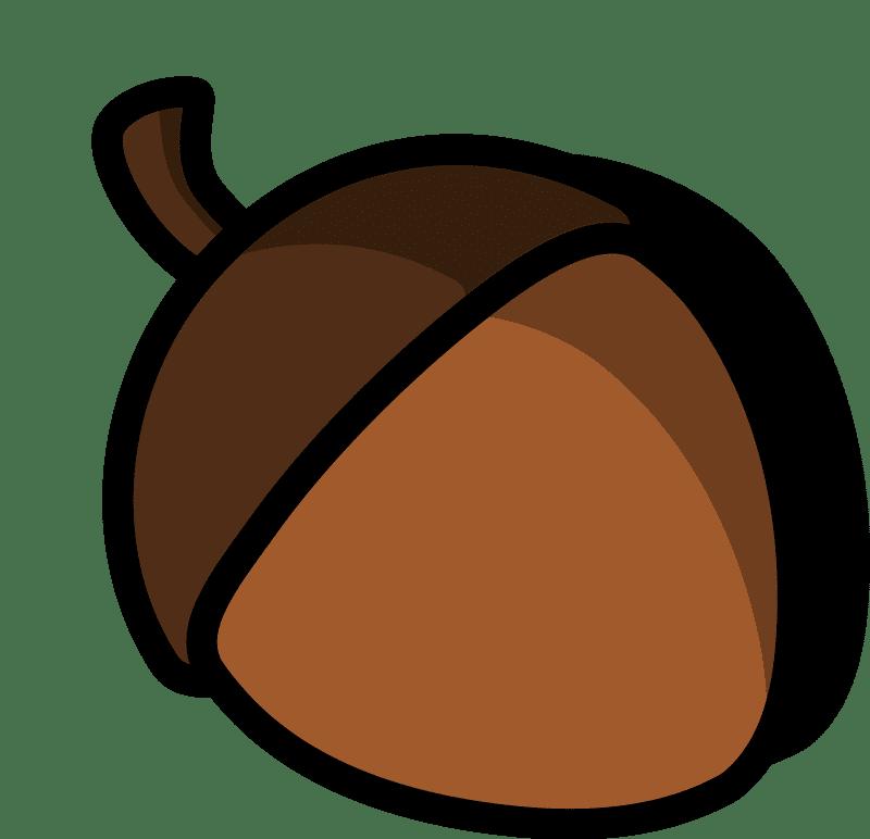 Acorn clipart transparent 15