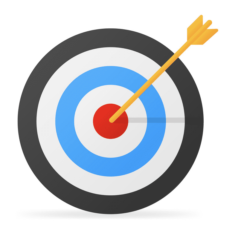 Archery Target clipart download