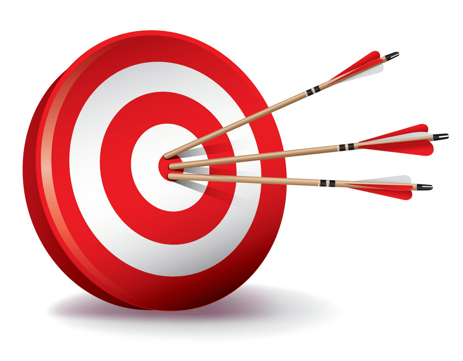 Archery Target clipart for kids