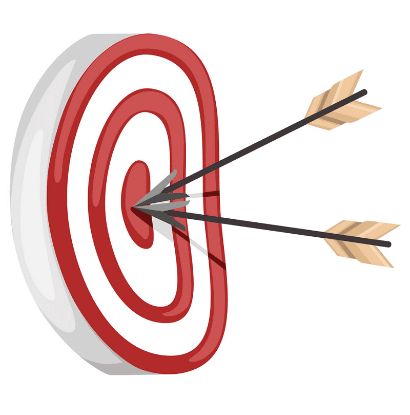 Archery Target clipart free download
