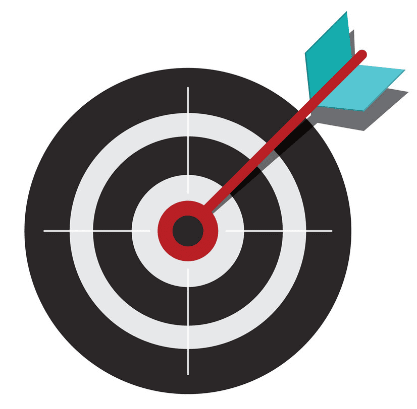 Archery Target clipart free picture