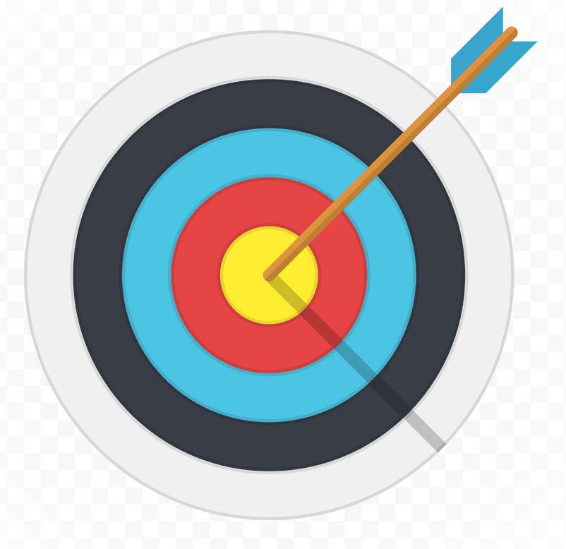 Archery Target clipart images