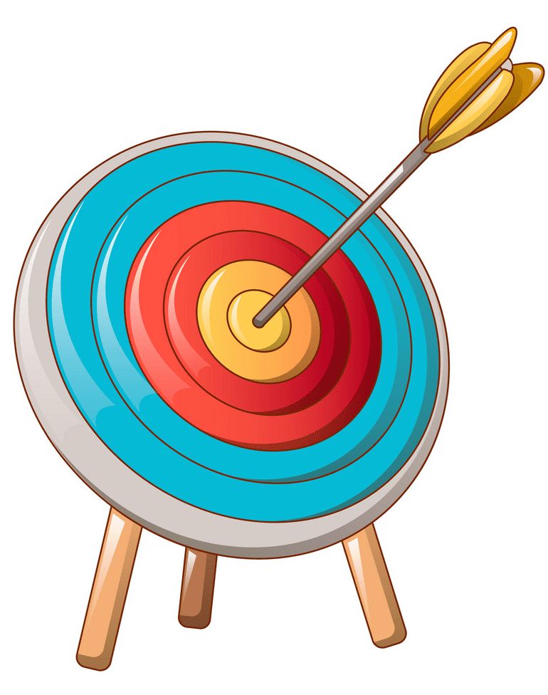 Archery Target clipart picture