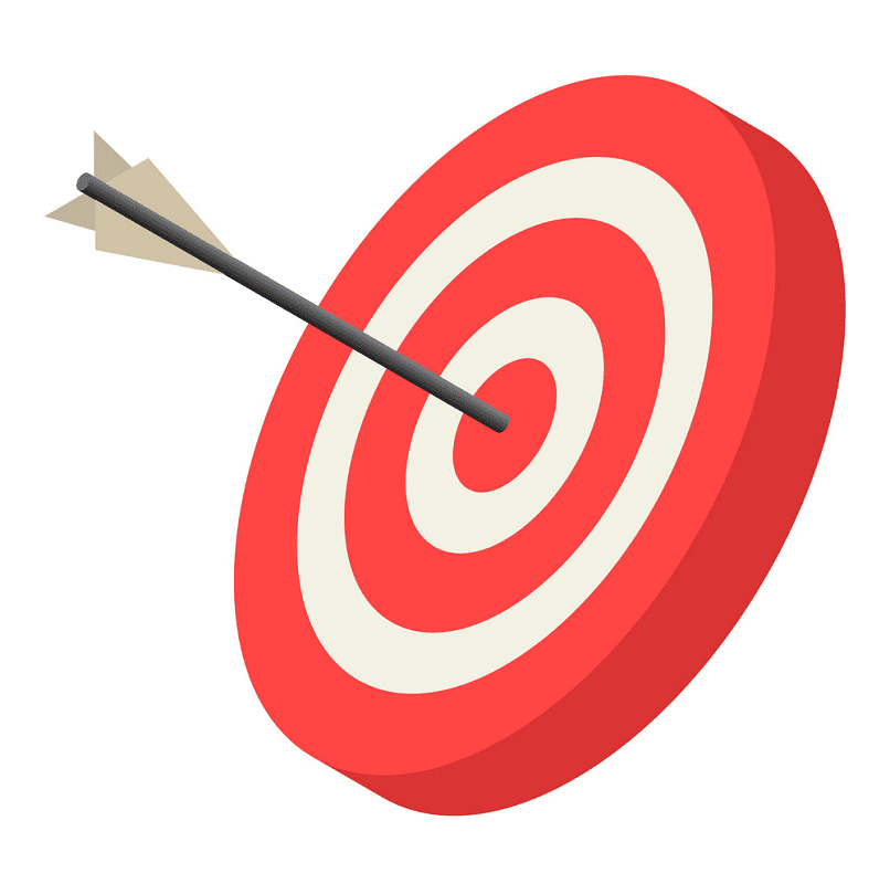 Archery Target clipart png download