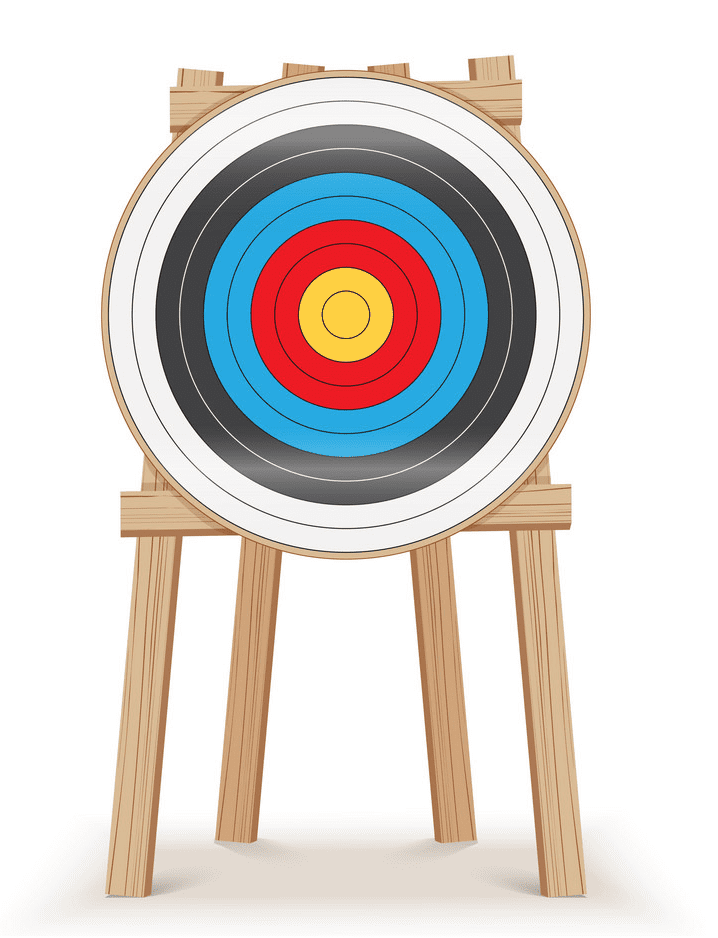 Archery Target clipart png image