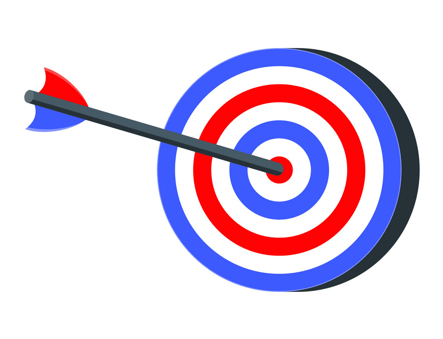 Archery Target clipart png images