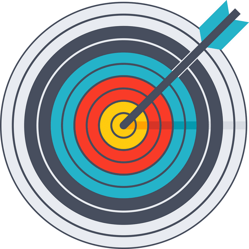 Archery Target clipart png