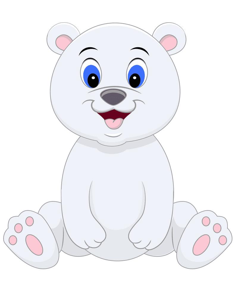 Baby Polar Bear clipart images