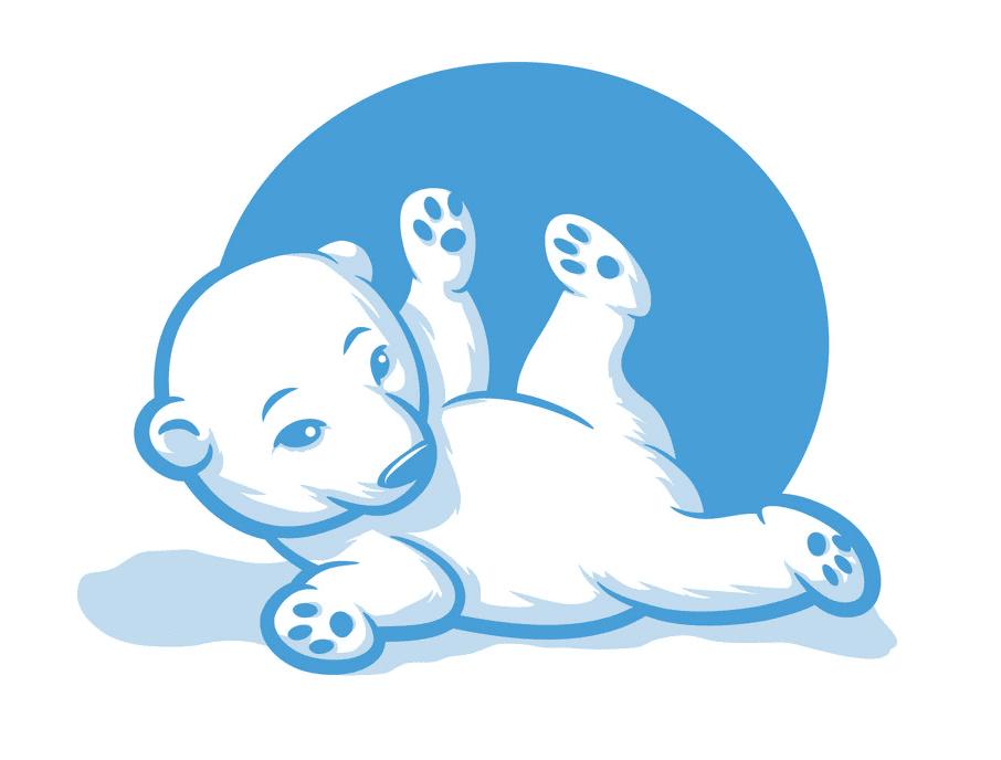 Baby Polar Bear clipart png image
