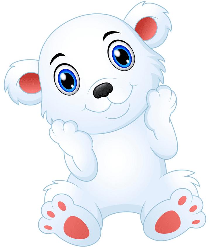 Baby Polar Bear clipart