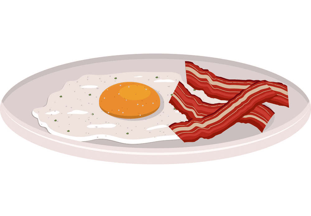 Bacon and Egg clipart download