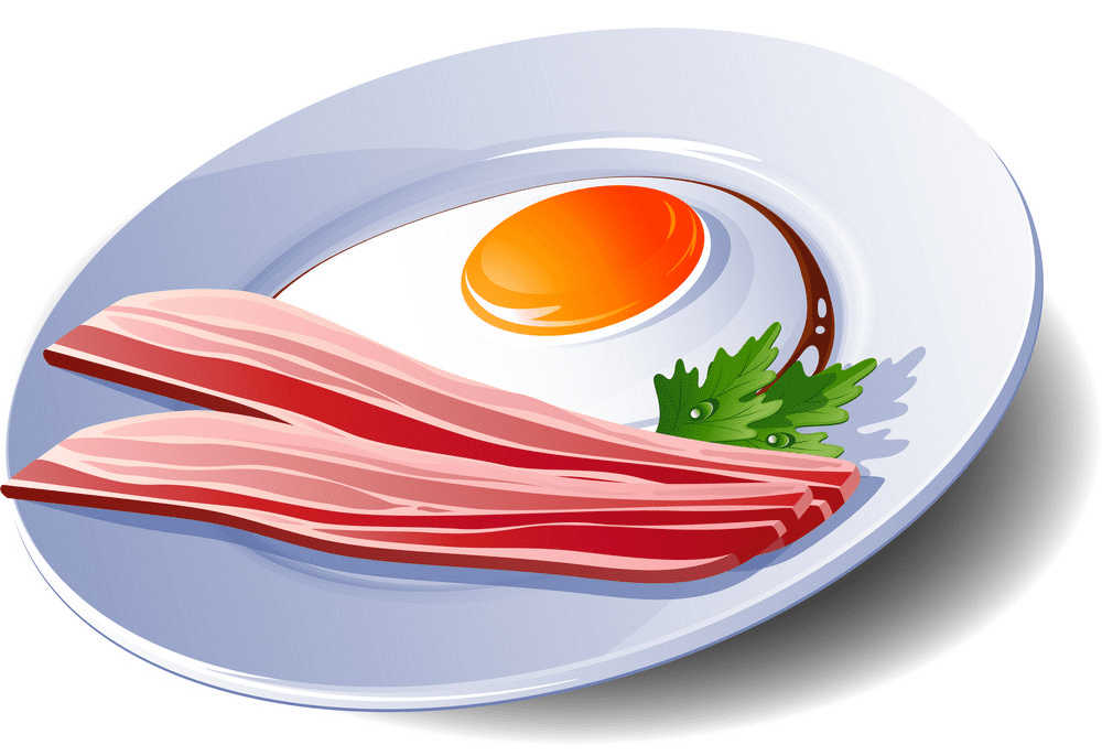 Bacon and Egg clipart free
