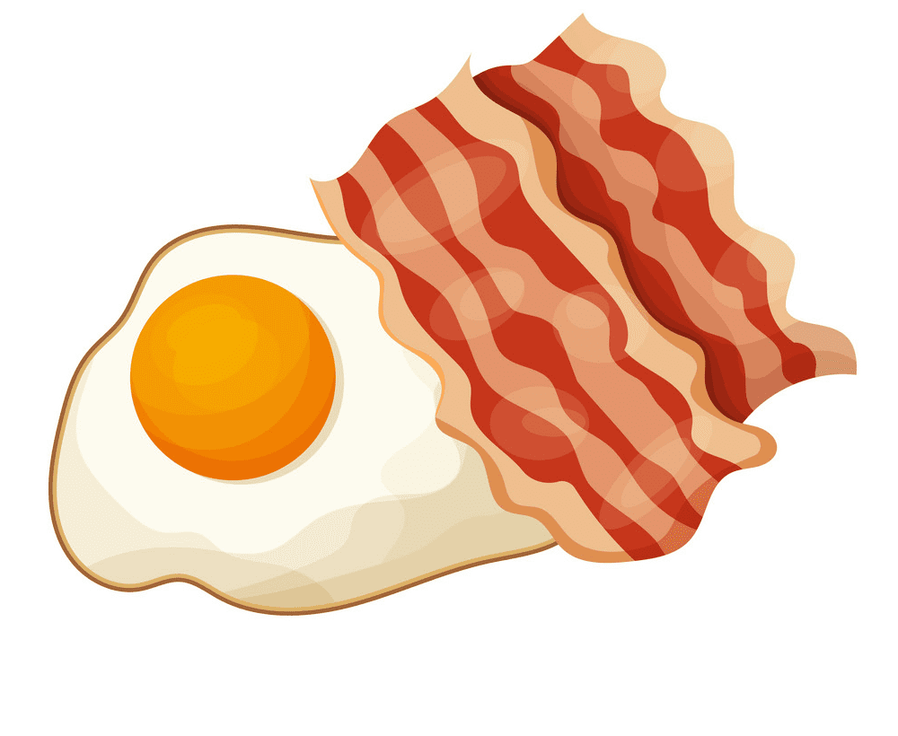 Bacon and Egg clipart