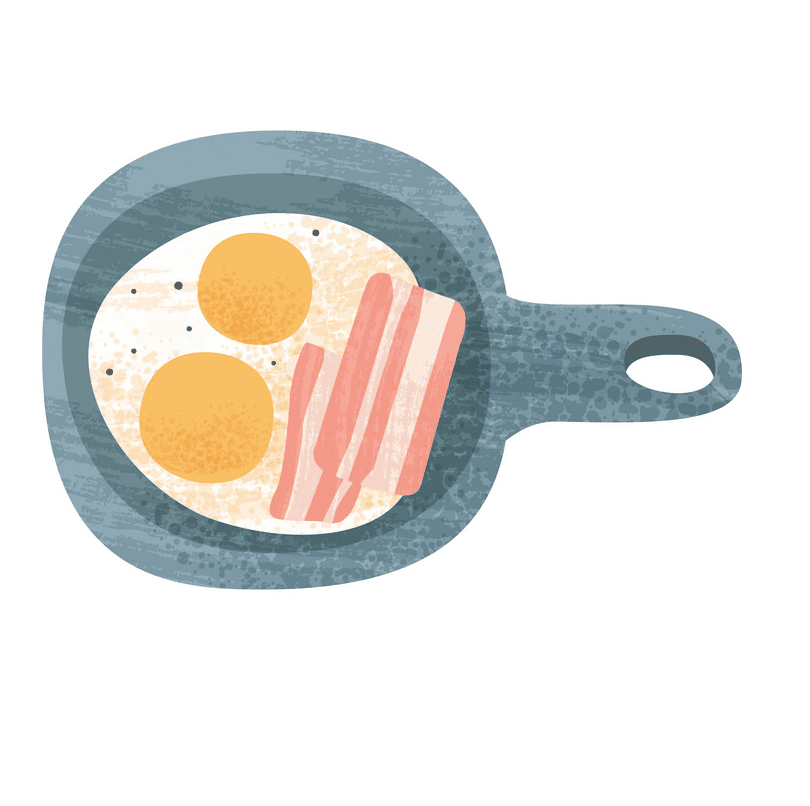 Bacon and Eggs clipart download