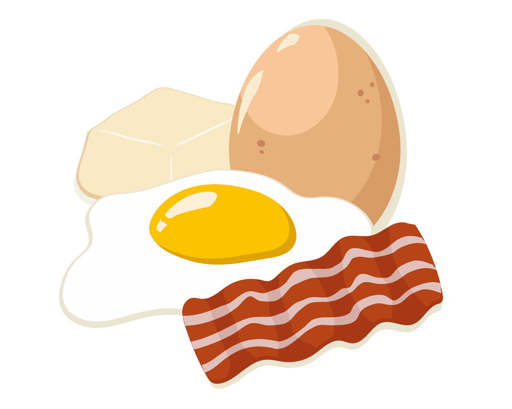Bacon and Eggs clipart picture