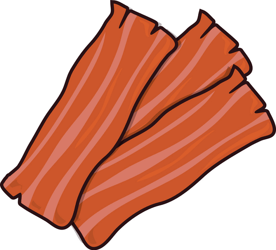 Bacon clipart for free