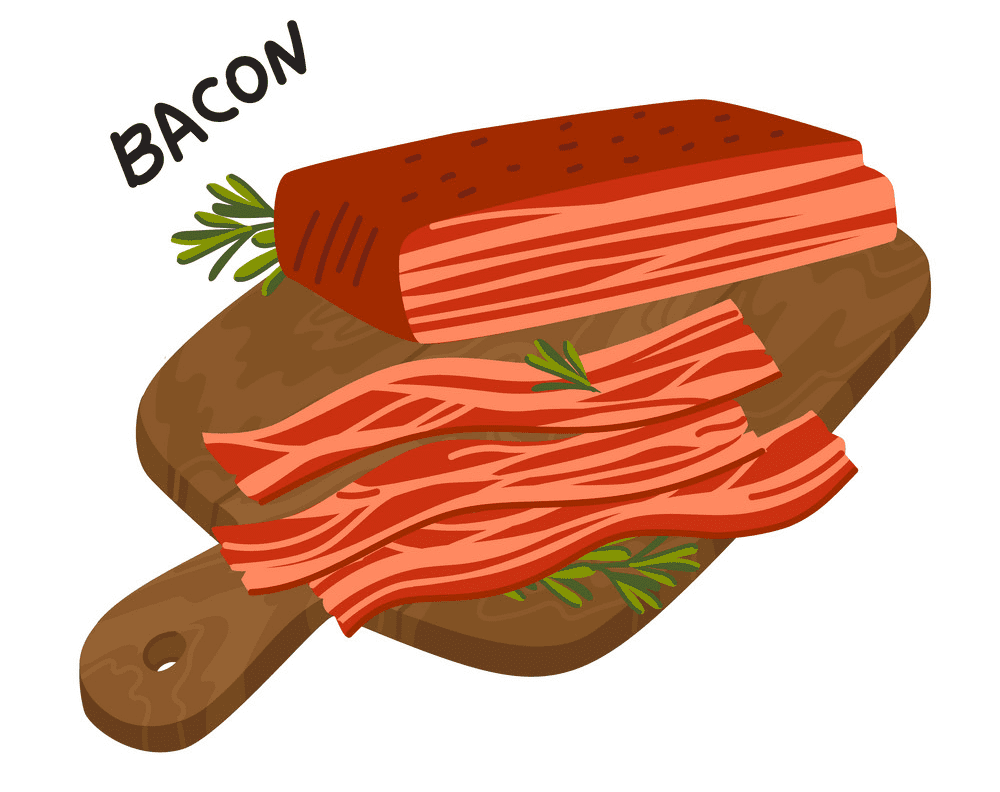 Bacon clipart for kid