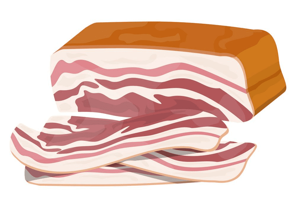 Bacon clipart png for kids