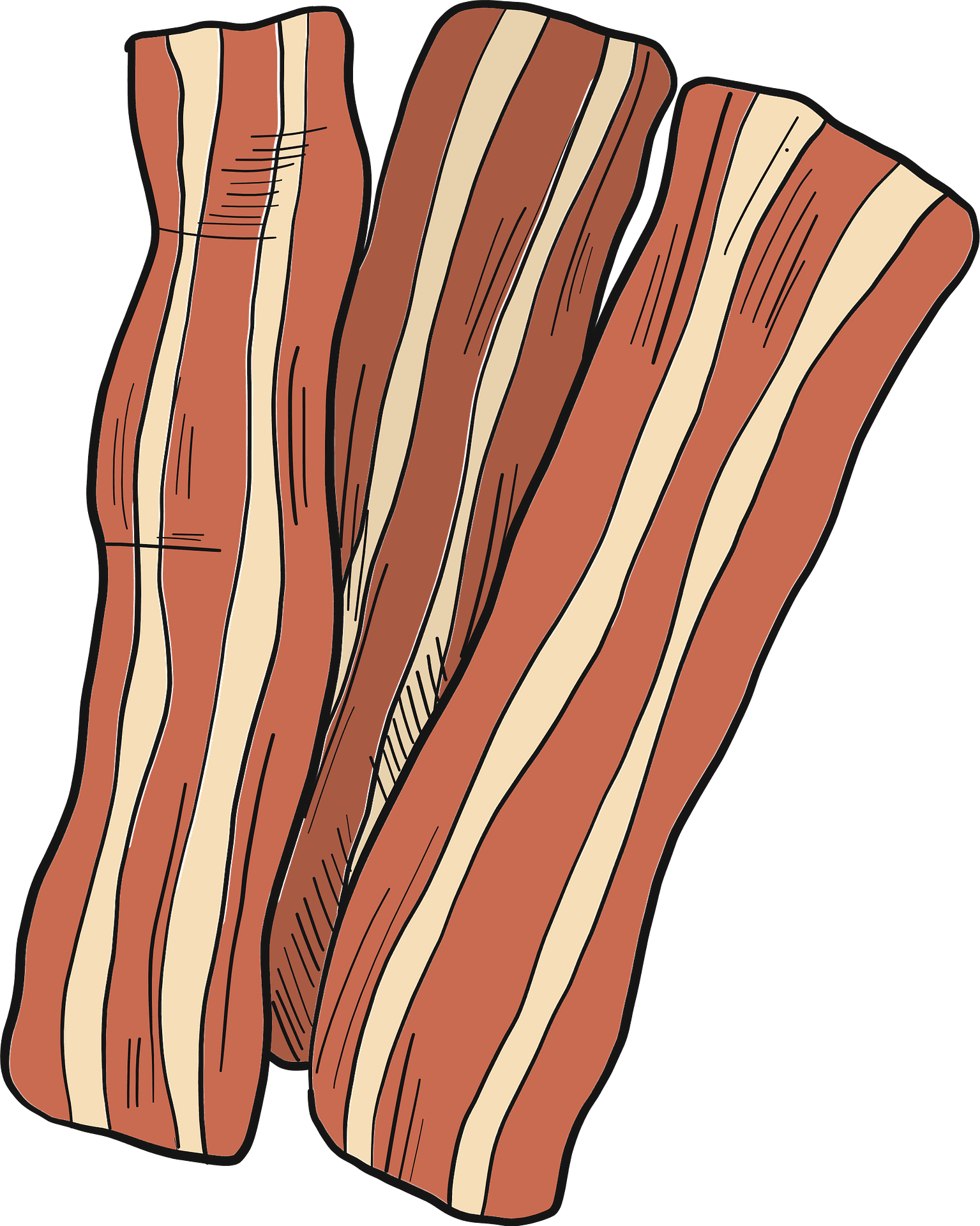 Bacon clipart transparent free