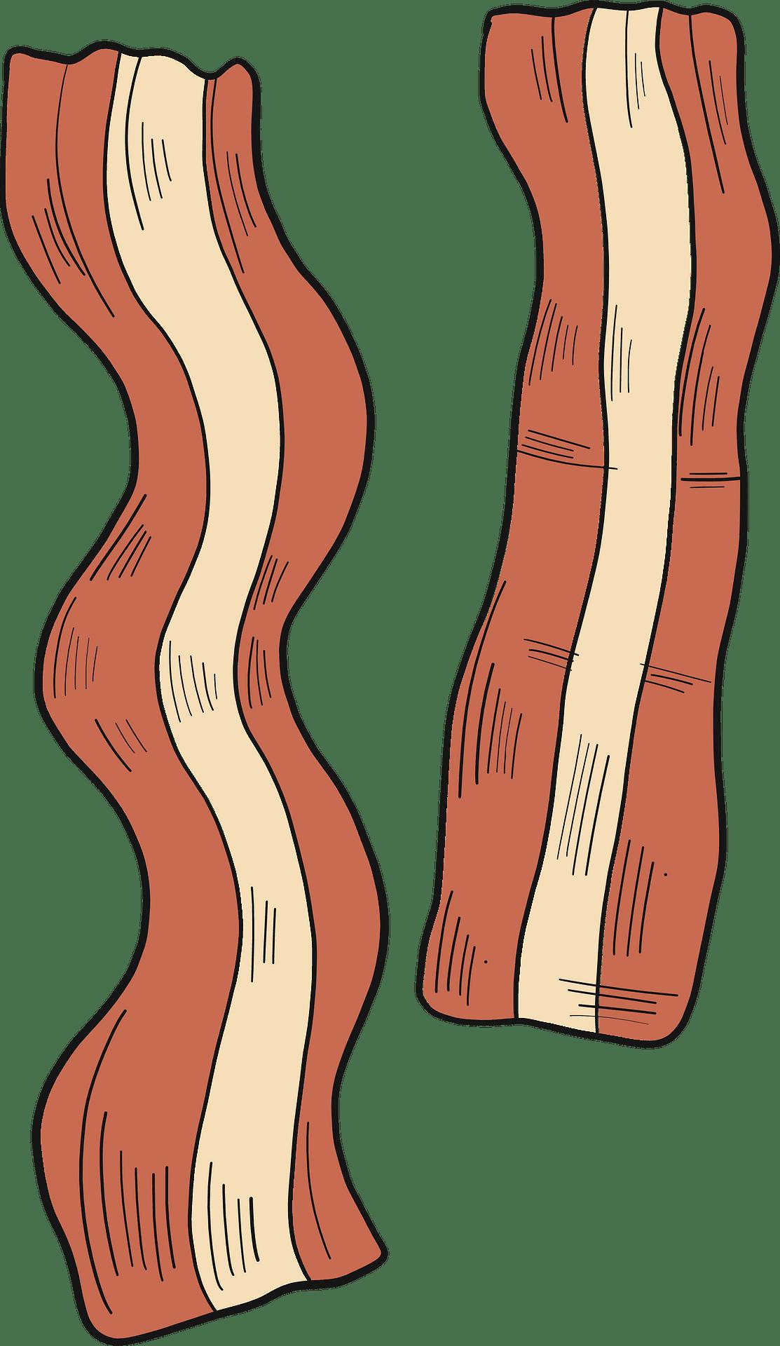Bacon clipart transparent image