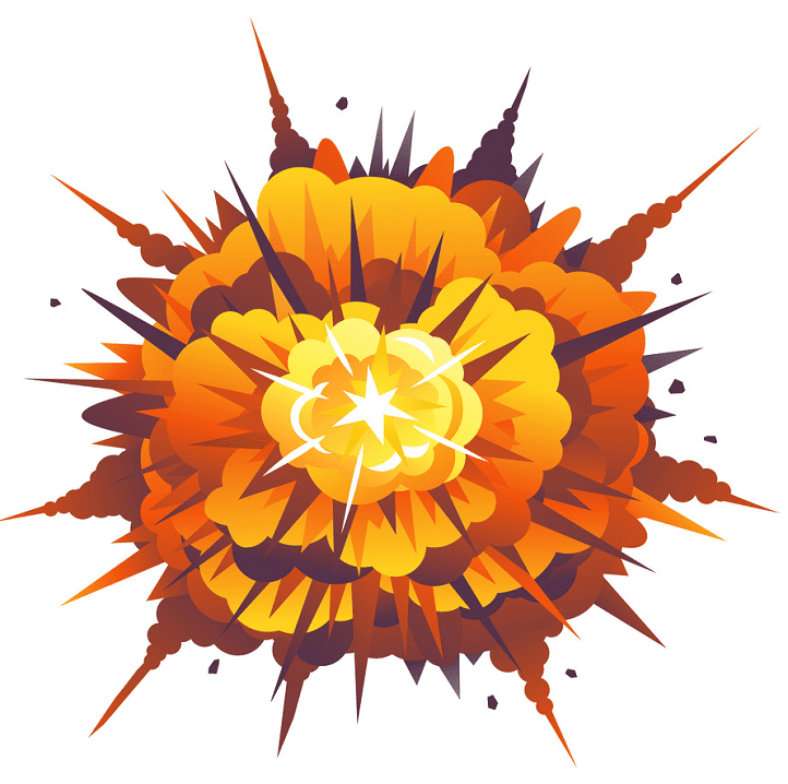 Bomb Explosion clipart image