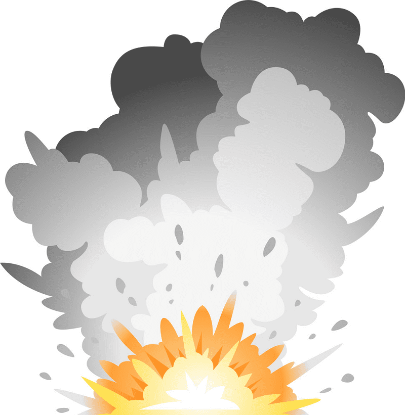 Bomb Explosion clipart images