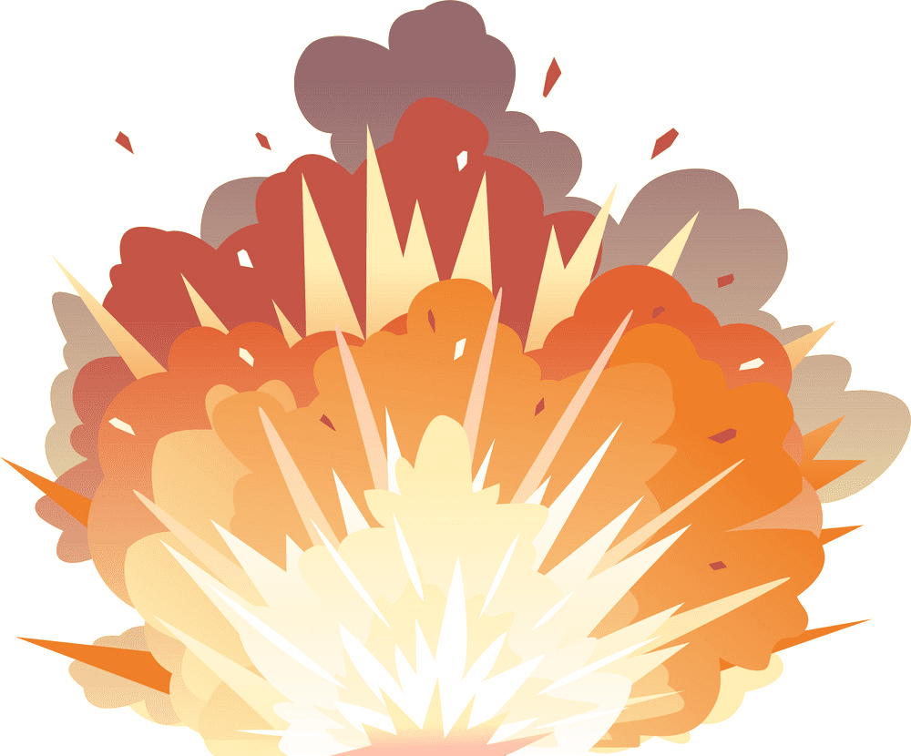 Bomb Explosion clipart png