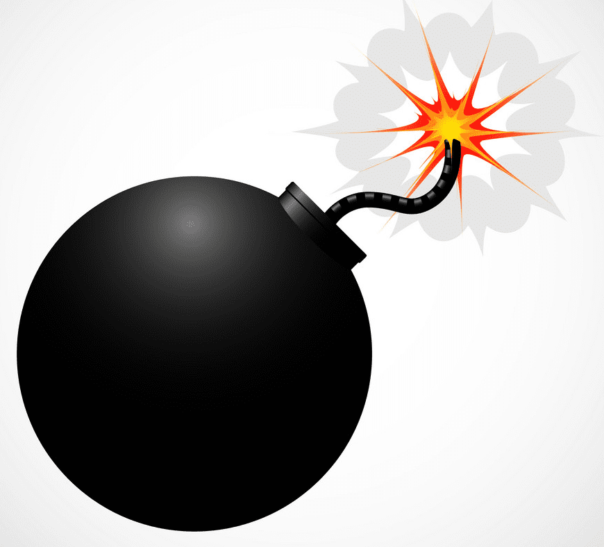 Bomb clipart for free