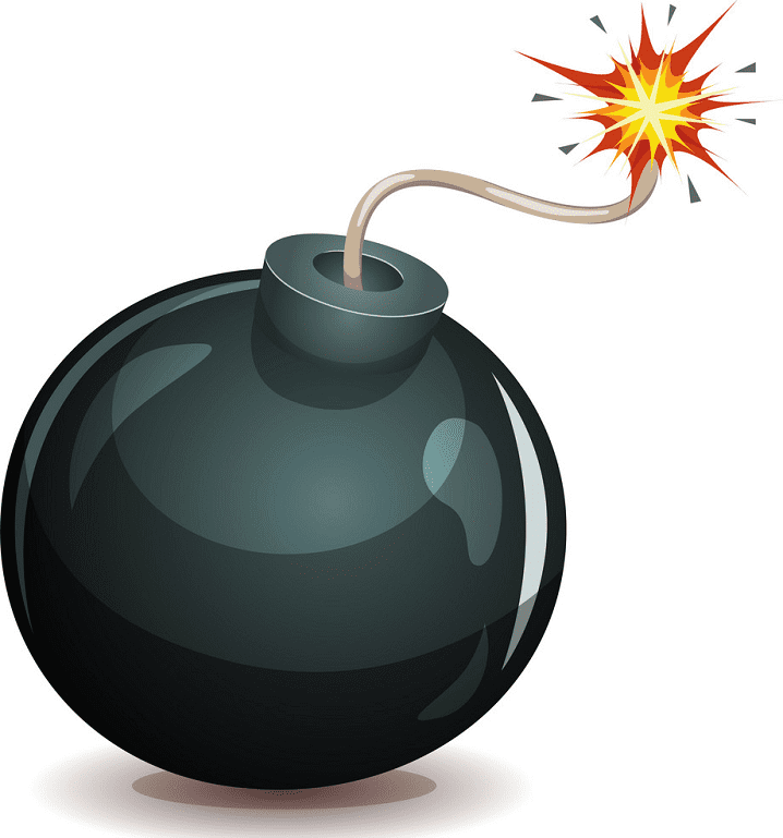 Bomb clipart free