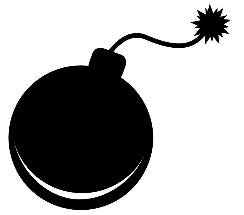 Bomb clipart image