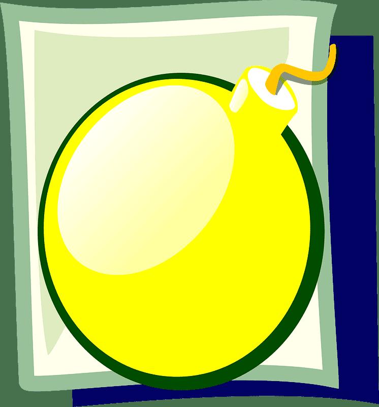 Bomb clipart transparent 11