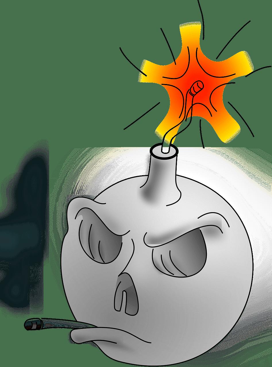 Bomb clipart transparent 7