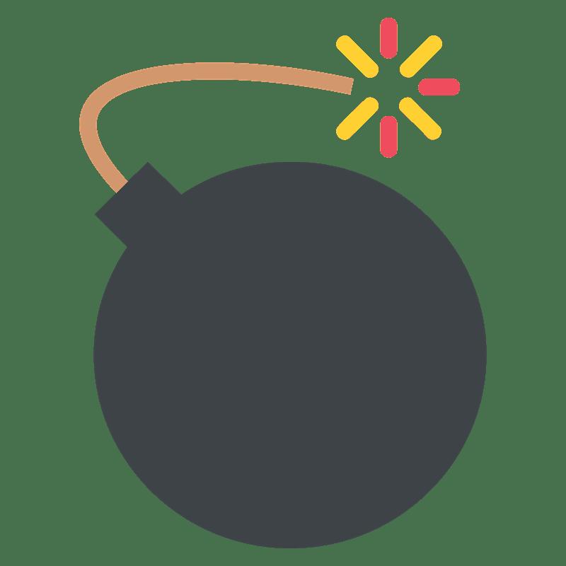 Bomb clipart transparent background 1