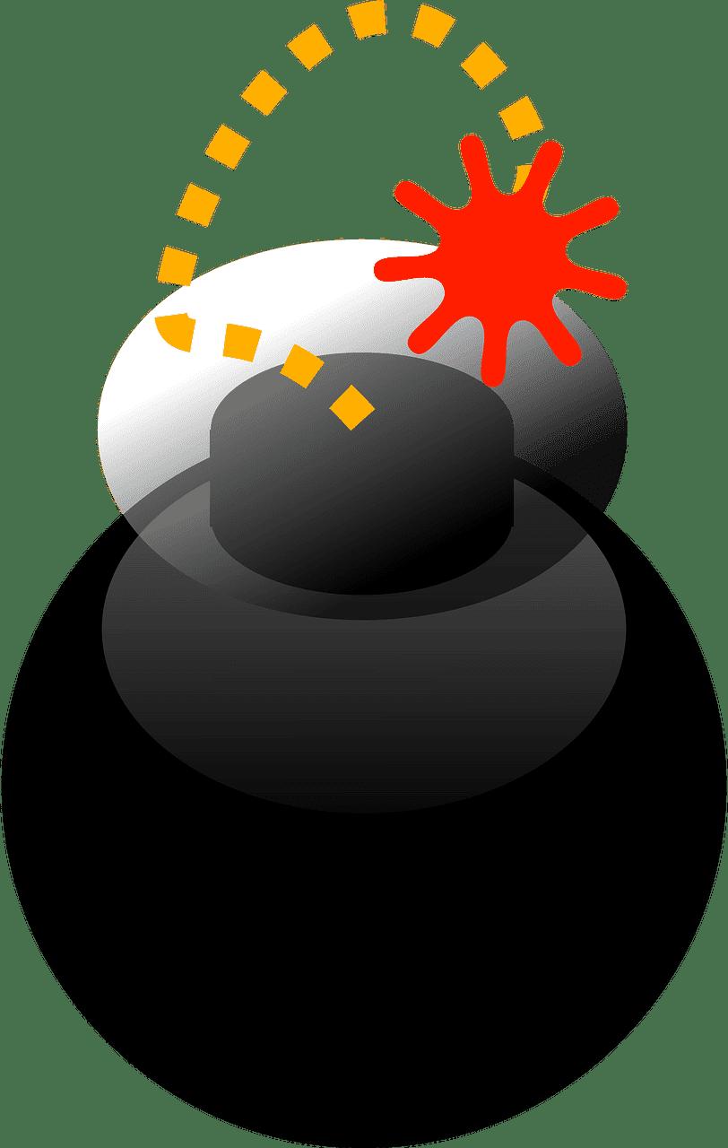 Bomb clipart transparent background 10