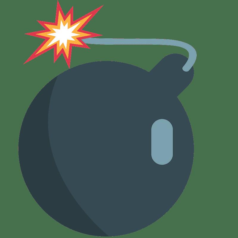 Bomb clipart transparent background 2
