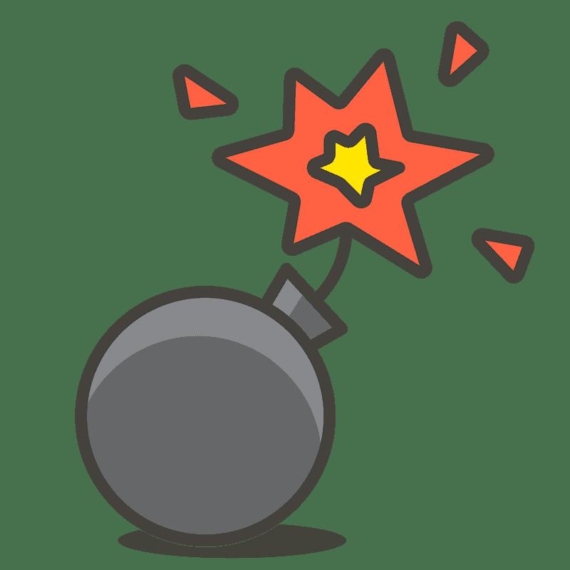 Bomb clipart transparent background 3