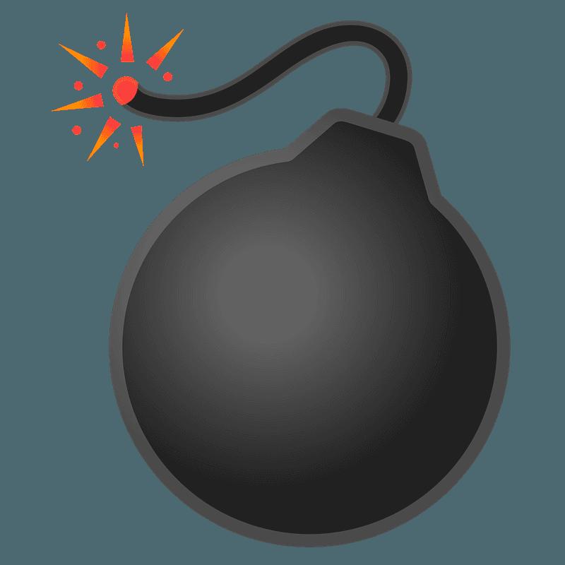 Bomb clipart transparent background 7