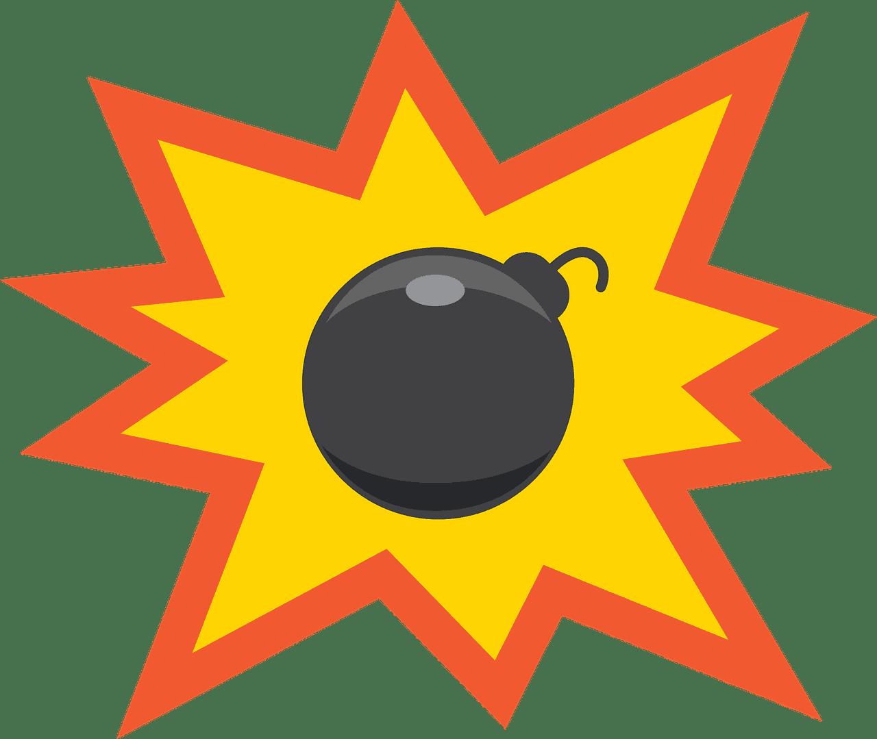 Bomb clipart transparent background 8