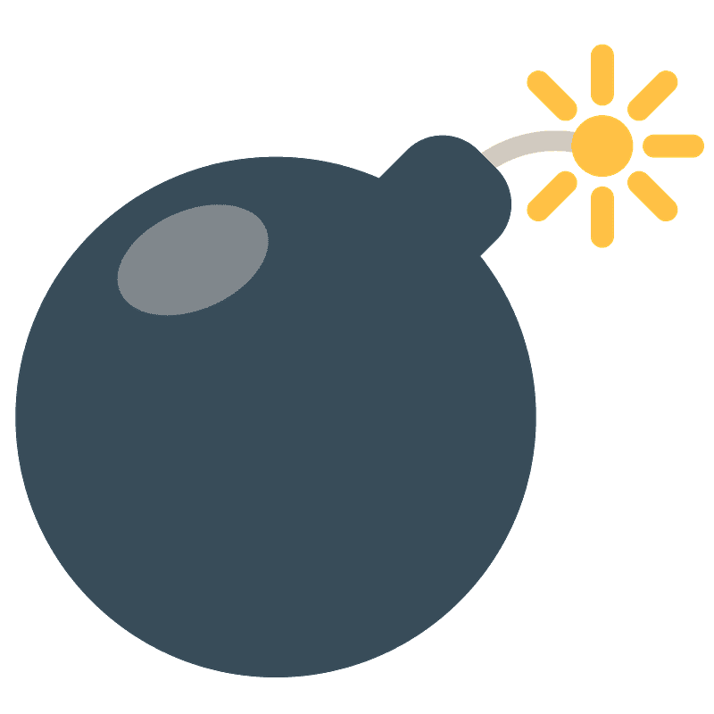 Bomb clipart transparent background 9