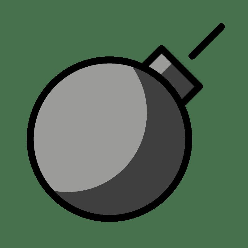 Bomb clipart transparent background