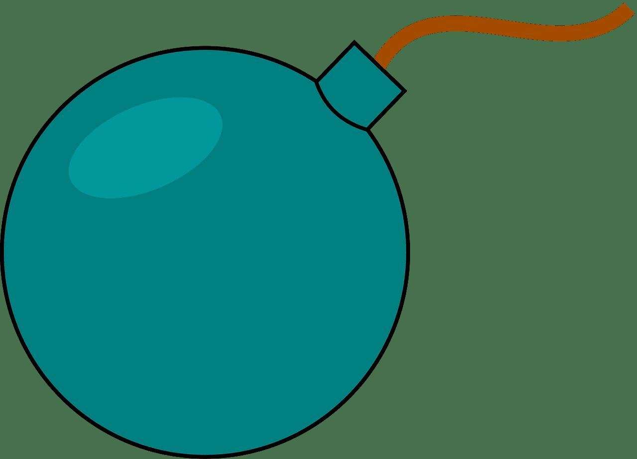 Bomb clipart transparent