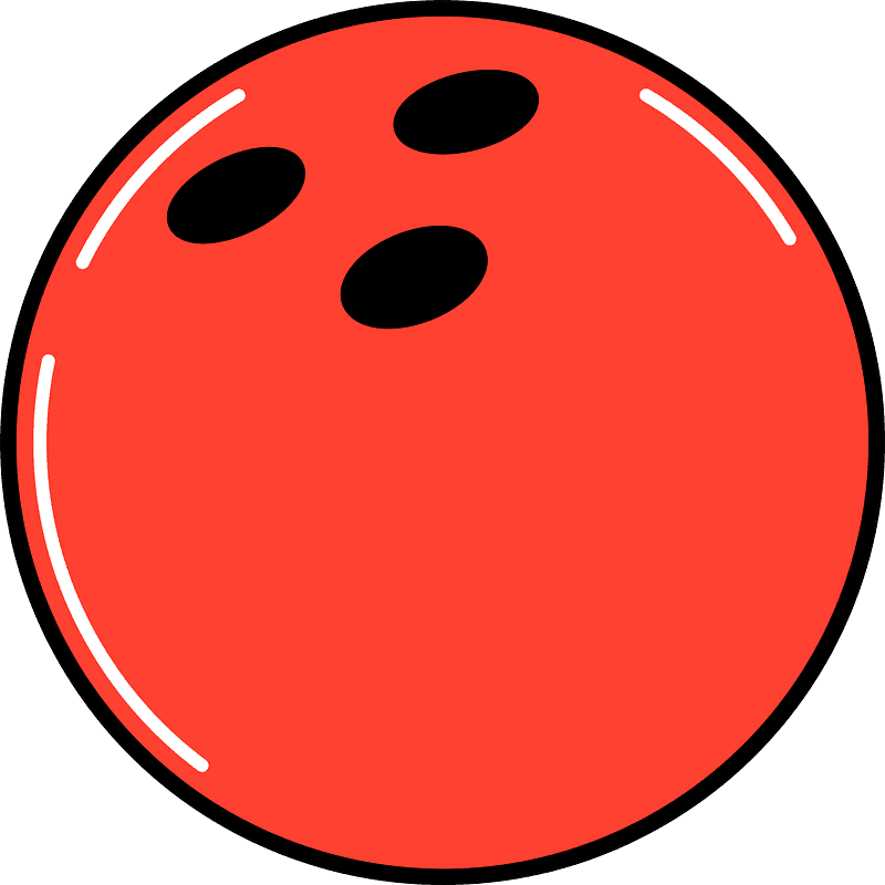 Bowling Ball clipart transparent png