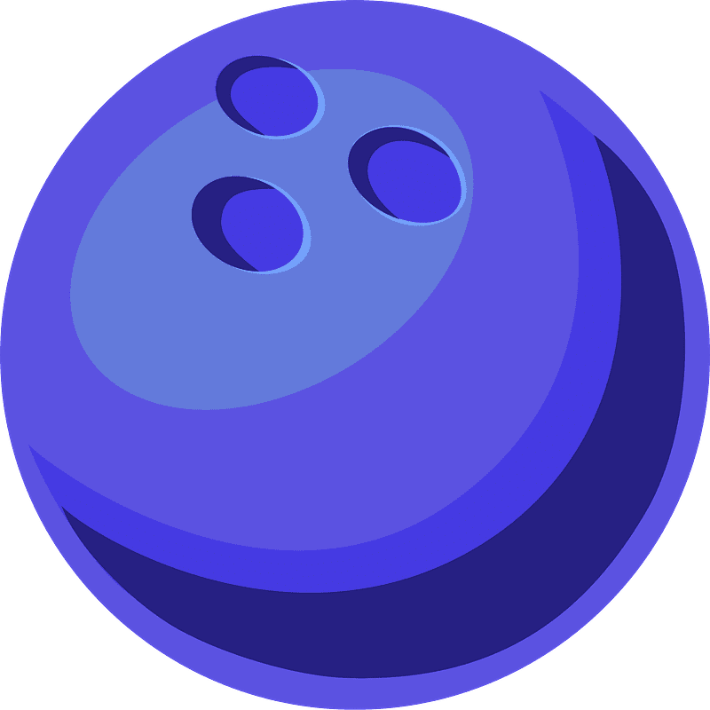 Bowling Ball clipart transparent