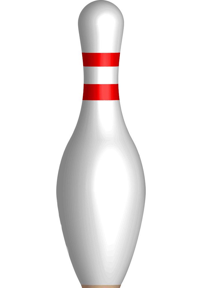 Bowling Pin clipart free