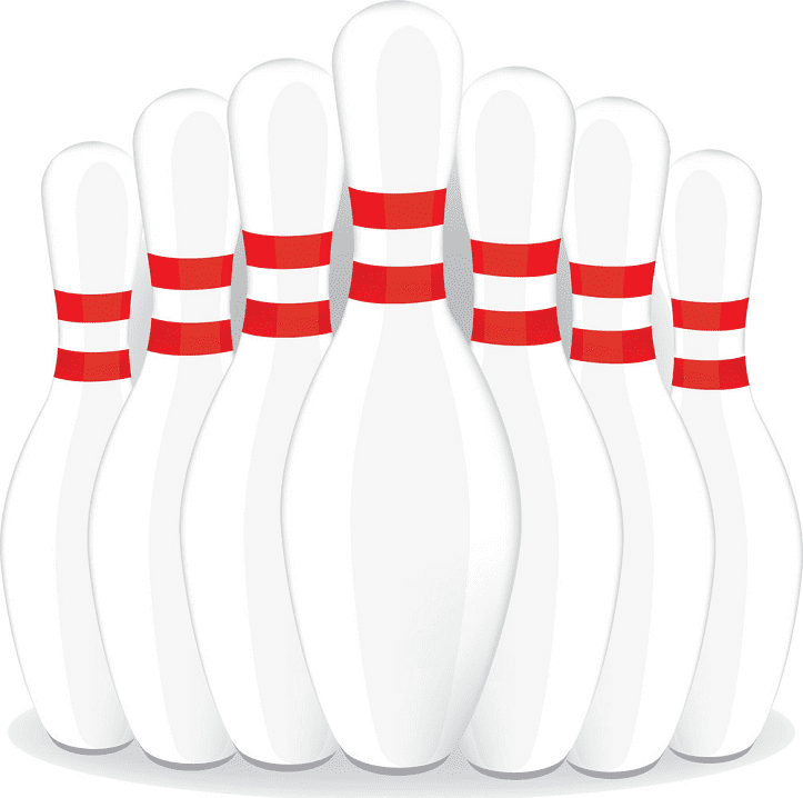 Bowling Pins clipart download